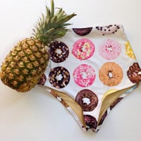 Donuts retro swim bottoms