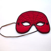 Spider Web Mask Eco-Friendly Adult to Child Halloween Dress Up