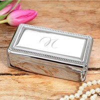 Cathy's Concepts Monogrammed Jewelry Box