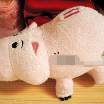 Original Toy Story Piggy Bank Ham Pig Cute Soft Stuff Plush Toy Baby Birthday Gift Collection