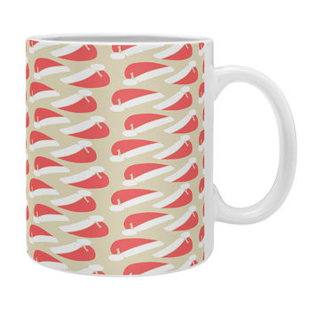 Allyson Johnson Santa Hats Coffee Mug