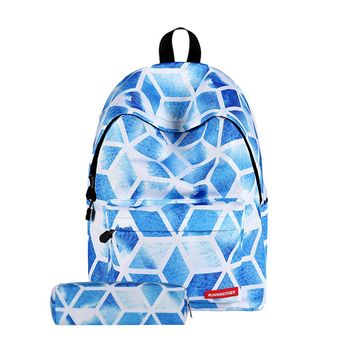 Student's Multi-Color Backpack