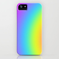gentle rainbow iPhone Case by Christy Leigh | Society6
