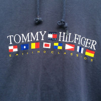 Vintage TOMMY HILFIGER Sailing Classics Pullover Hoodie