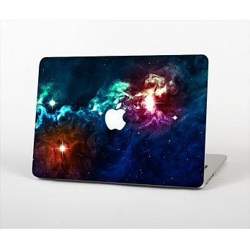 "The Glowing Colorful Space Scene Skin Set for the Apple MacBook Pro 15"" with Retina Display"