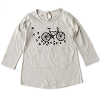 Poette City Bike Mini T-Shirt Dress - FINAL SALE