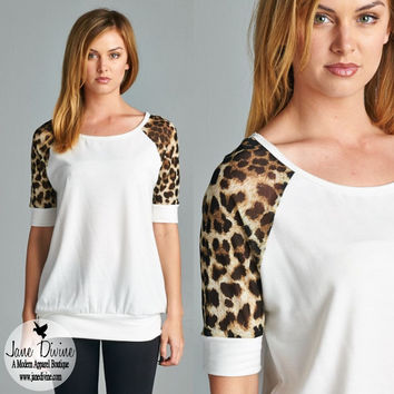 Wild About You Top   Jane Divine Boutique