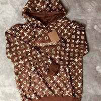 Louis vuitton SUPREME Hoodies Long-sleeved Sweatshirts
