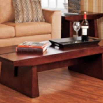 Unique Western Rustic Lodge Cabin Cocktail Coffee Table Living Room Furniture