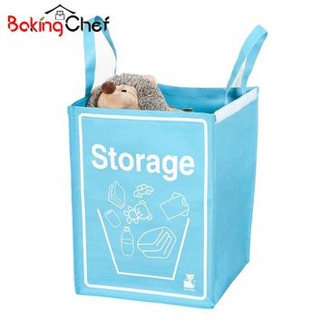 Weaving Laundry Storage Basket Organization For Toys Handle Dirty Clothes Home Accessories Supplies Gear Items Stuff  Product