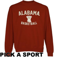 Alabama Crimson Tide Legacy Sweatshirt - Crimson