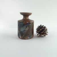 Mid Century Pottery Craft USA Vase or Weed Pot