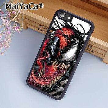 Deadpool Dead pool Taco MaiYaCa  Venom Marvel Amazing Phone Case Cover for iPhone 5 5s 6 6s 7 8 Plus X soft case for samsung S6 S7 S8 edge Plus AT_70_6