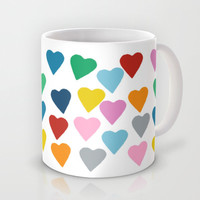 Hearts #3 Mug by Project M