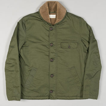 Universal Works N1 Jacket Olive Twill