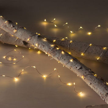 LED Copper Starry Night String Lights