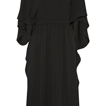 Co - Draped crepe dress