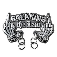 Breaking The Law Dangly Pin