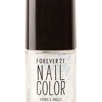 FOREVER 21 Confetti Bomb Nail Polish Crystal/Multi One