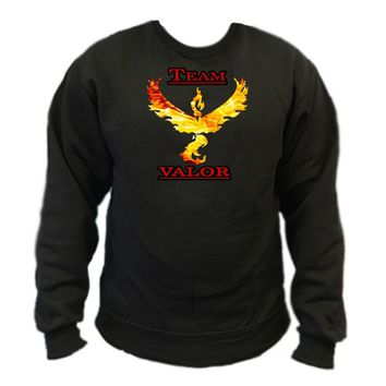 Pokemon Go Team Valor: Fire Crewneck Sweatshirt