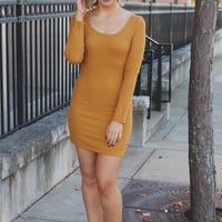 Little Chic Dress - Mustard