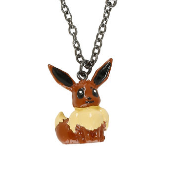 Pokemon Eevee 3D Necklace