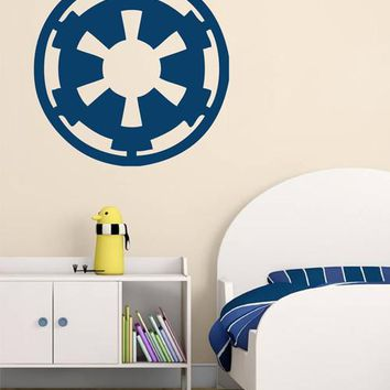 ik2203 Wall Decal Sticker STAR WARS Galactic Empire Living children's room