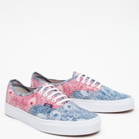 Vans / Liberty Authentic in Peacock