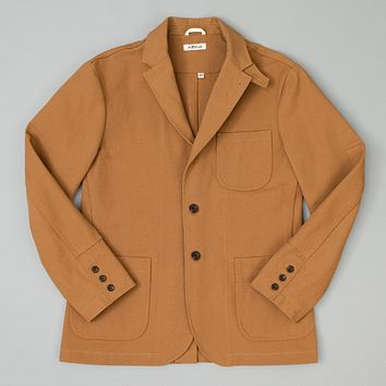 Tailored Jacket, American Brown Duck Canvas