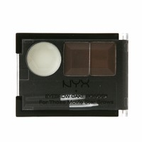 Eyebrow Cake Powder, Dark Brown/Brown