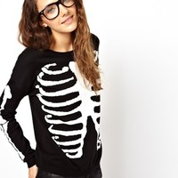 ASOS Skeleton Jumper at asos.com