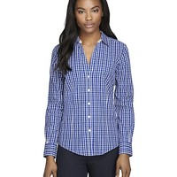 Non-Iron Fitted Check Dress Shirt - Brooks Brothers