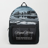 Only pieces left Backpack by happymelvin