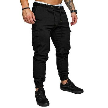 Autumn Men Pants Hip Hop Harem Joggers Pants M - 4Xl
