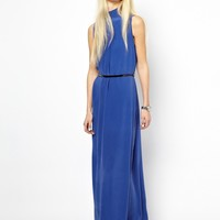 Just Female Silk Maxi Dress