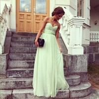 MINT GREEN DRESS!!