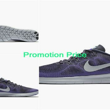 nike sneakers vintage Nike Free RN 2017 Womens Running Shoe Dark Raisin Purple Earth Hyper Grape Pure Platinum 880840-500 sneaker