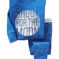 "Old Navy ""Shoot For The Moon"" Sleep Sets For Baby"