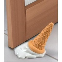Fred & Friends scOOPS! Ice Cream Doorstop