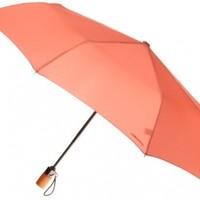 London Fog Auto Open Close Umbrella, Ember, One Size