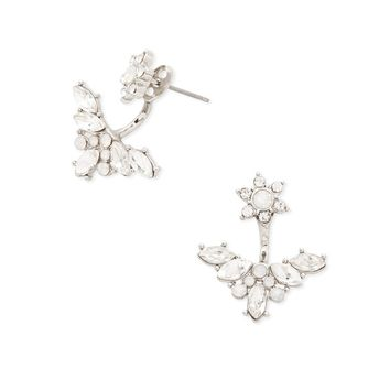 Rhinestone Ear Jackets - Jewelry - Earrings - 1000198062 - Forever 21 EU English