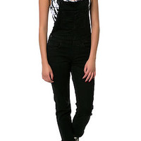The Authentic Overall in Worn In Black