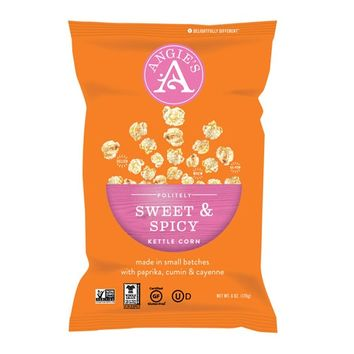 Angie's Sweet & Spicy Kettlecorn 6 Oz Bags - Pack of 12
