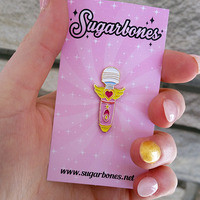 Moon Wand ♥ pin from SUGARBONES