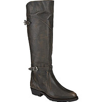 Frye Dorado Lug Riding Boots - Smoke