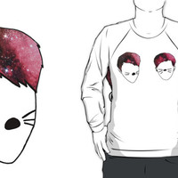 Dan and Phil galaxy whiskers by Maya Aubrey