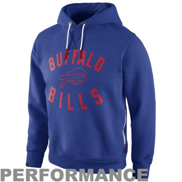 Nike Buffalo Bills Washed Pullover Hoodie - Royal Blue