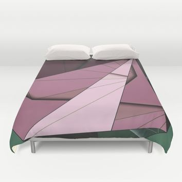 Shape Abstract Duvet Cover by Ducky B