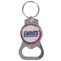 New York Giants Bottle Opener Key Chain
