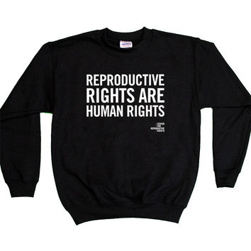 Reproductive Rights Are Human Rights -- Youth Sweatshirt